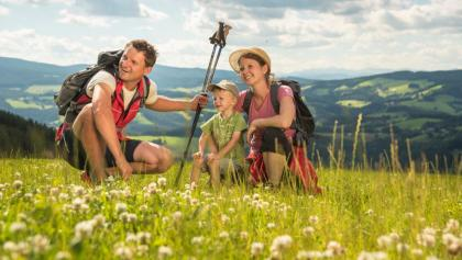 Hiking in the region of East Styria