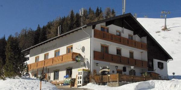Gasthof Plodererhof im Winter