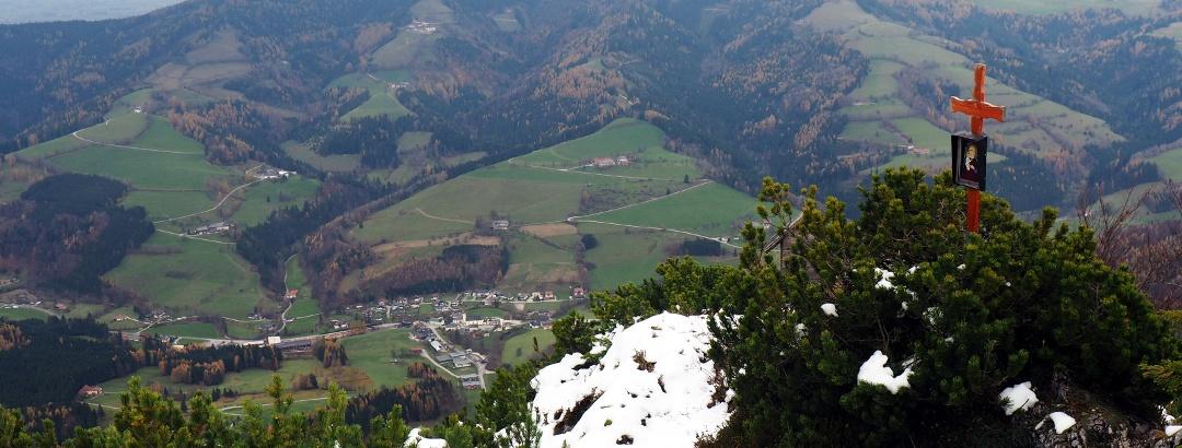 Talblick vom Mittagstein 1260 m