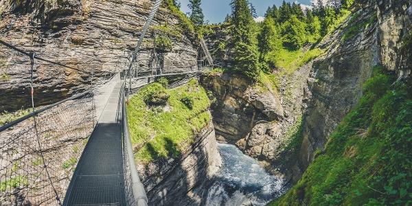 Sentier des sources thermales à Loèche-les-Bains