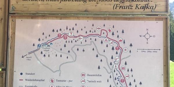Wanderweg Frillensee