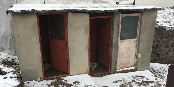 Die einzigen funktionierenden Toiletten.