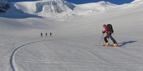 herrliches Skihochtourengelände