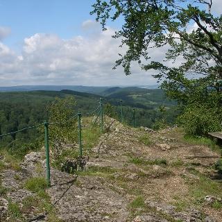Aussicht am Habichtsstein
