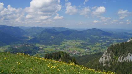 Blick nach Fischbachau