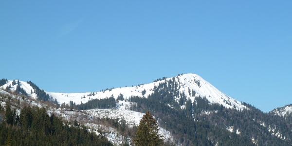 Schönkahler (1688 m) im Winter