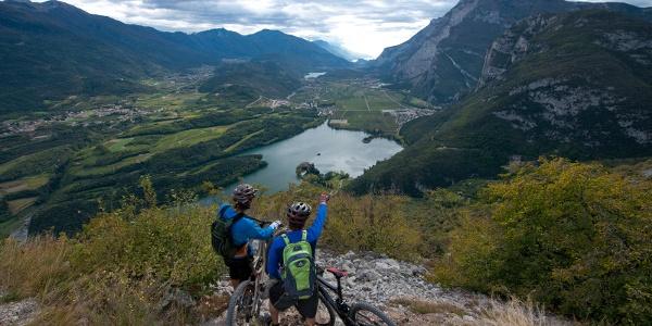 Mountain & Garda Bike (Ausblick über das Valle dei Laghi)
