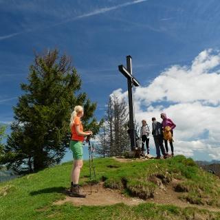 Gipfelkreuz des Großen Ochsenkopfes