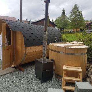 Hotpot und Saunafass