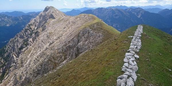 Verbindungsgrat zwischen Kuchelbergspitz und Kuchelbergkopf