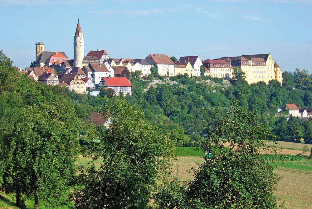 Majestätisches Kirchberg an der Jagst  - @ Autor: Dr. Konrad Lechner  - © Quelle: Hohenlohe + Schwäbisch Hall Tourismus e.V.