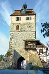 Stadttor von Vellberg  - @ Autor: Dr. Konrad Lechner  - © Quelle: Hohenlohe + Schwäbisch Hall Tourismus e.V.