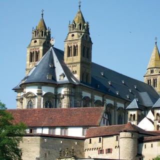 Comburg in Schwäbisch Hall - ehemalige Benediktinerabtei