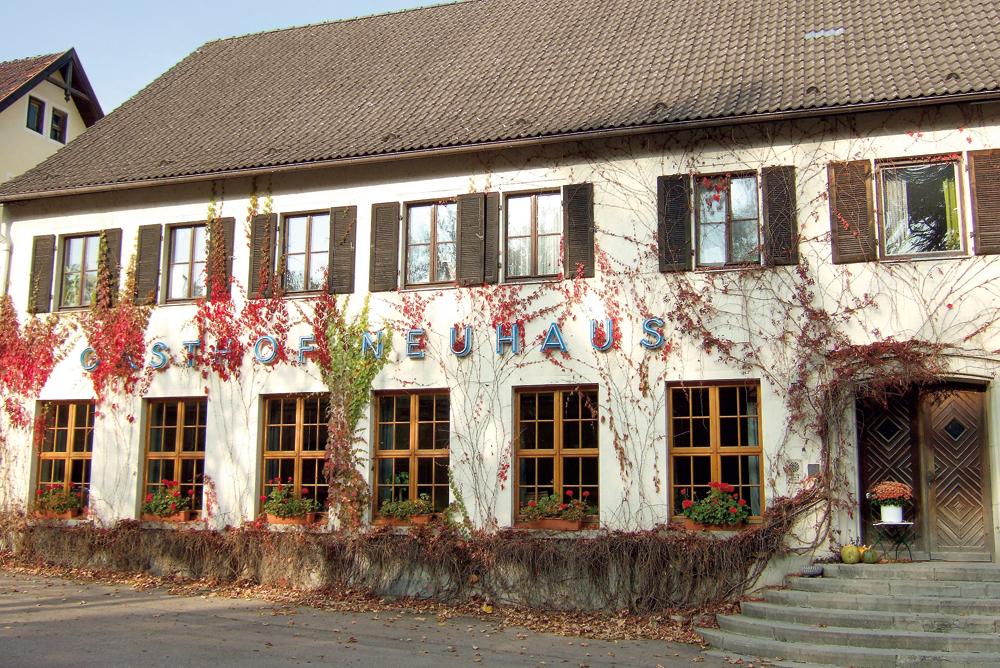 Gasthof Neuhaus  - @ Autor: Dr. Konrad Lechner  - © Quelle: Hohenlohe + Schwäbisch Hall Tourismus e.V.