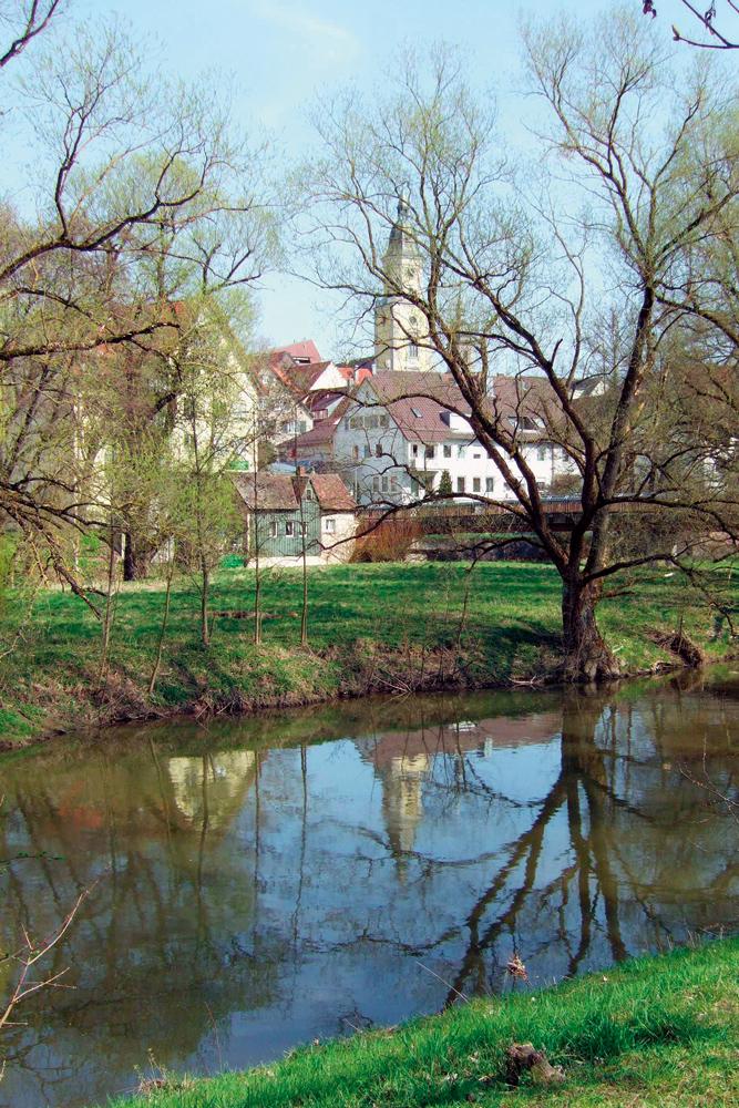 Blick auf Crailsheim  - @ Autor: Dr. Konrad Lechner  - © Quelle: Hohenlohe + Schwäbisch Hall Tourismus e.V.