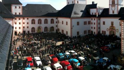 Oldtimer-Herbst-Treffen auf Schloss Augustusburg