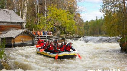 River Rafting in Myllykoski, Oulanka National Park