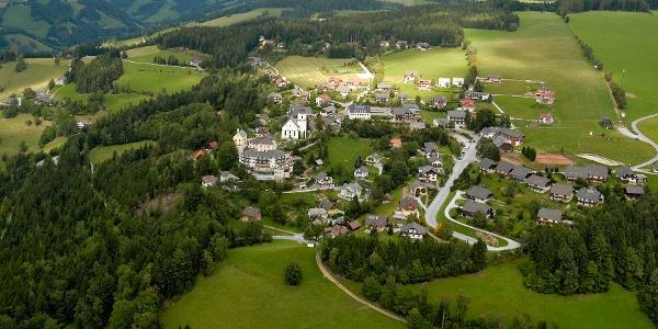 St. Kathrein am Offenegg, Luftbild