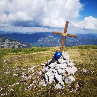 Am Gipfel des Gamseck