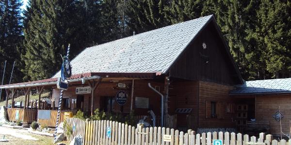 Die Edelweißhütte am Preiner Gschaid
