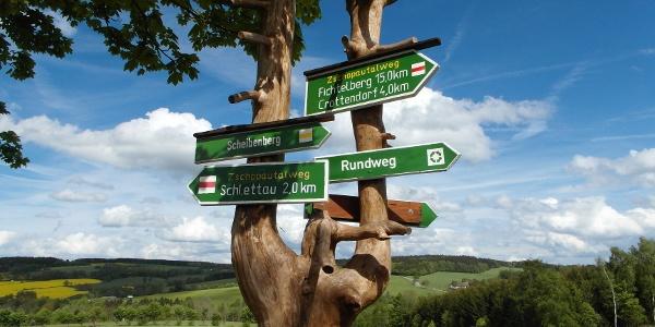 Zschopautalweg bei Crottendorf