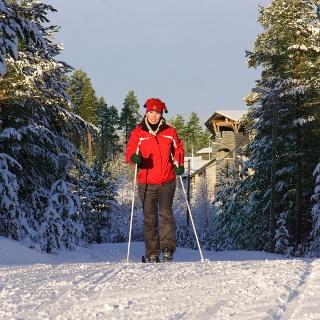 Langlauftour in der finnischen Taiga