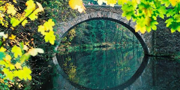 Steinbogenbrücke in Wolkenstein