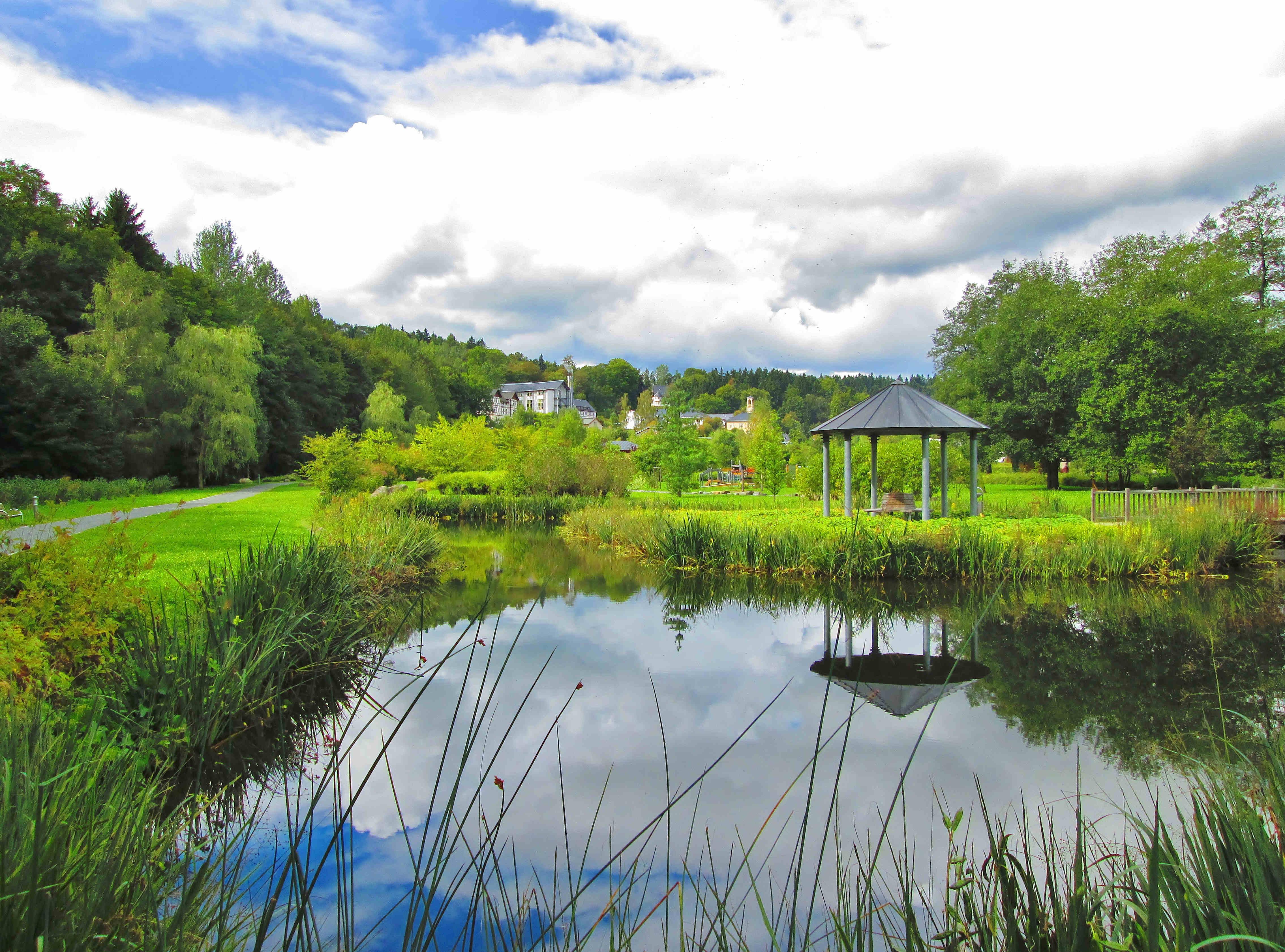 Thermalbad Wiesenbad - Kurpark