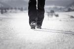 Wandern auf den Premium-Winterwanderweg