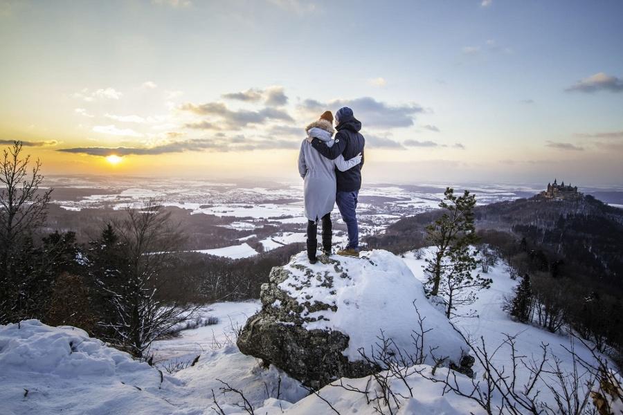 Premium-Winterwanderweg Wintermärchen in Albstadt
