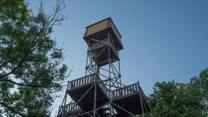 Petőfi lookout tower (Bálvány)