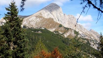 Pyhrgasgatterl 1308 m mit Blick zum Scheiblingstein