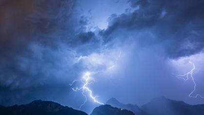 Unwetter in de n Bergen