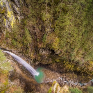 Der Untersulzbach-Wasserfall