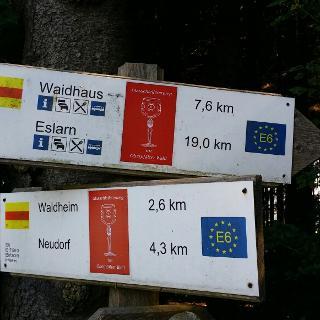Wegzeiger Nurtschweg