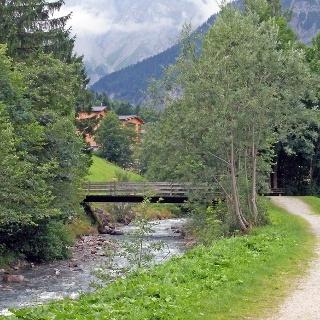 Laufstrecke entlang der Alvier