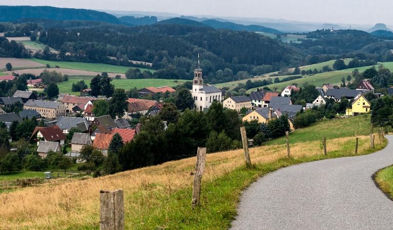 Foto Panoramaaussicht vom Wachberg