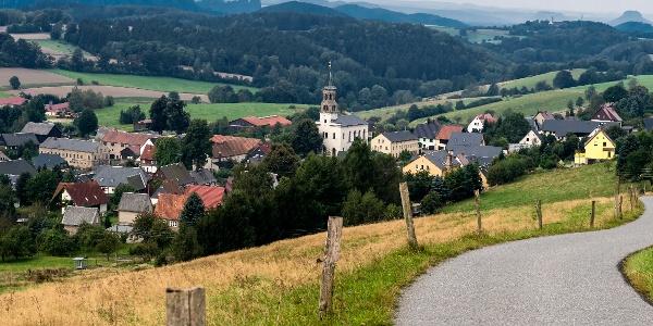 Panoramaaussicht vom Wachberg