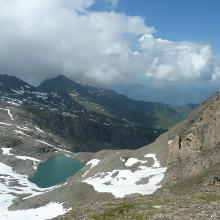 Oberhalb des Alpincenters