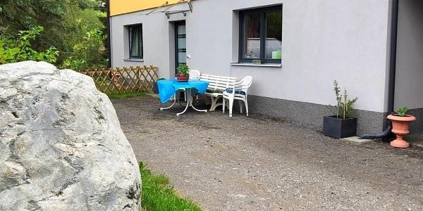Parkmöglichkeit direkt vor der Ferienwohnung