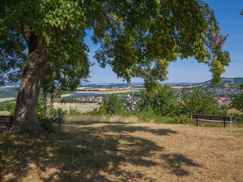Blick auf Michelbach an der Bilz   - © Quelle: Herrn Gohl