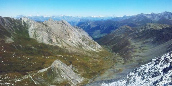 Vue sur la vallée «La combe de l'A»