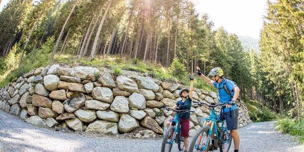 E-Biken am Ötztal Radweg