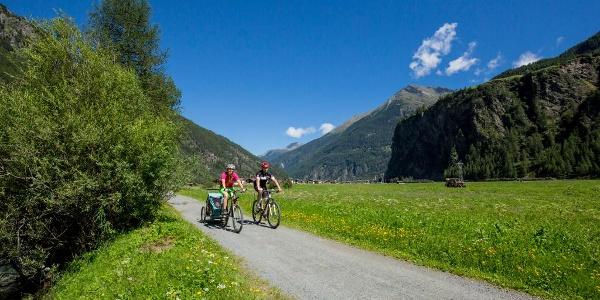 Ötztaler Radweg (bei Längenfeld)