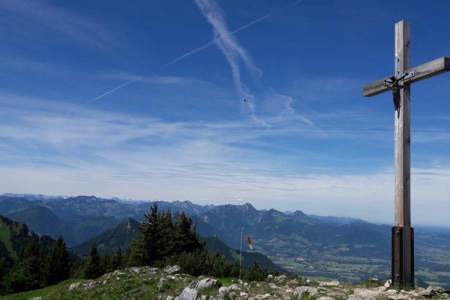 Gipfelkreuz Hochries