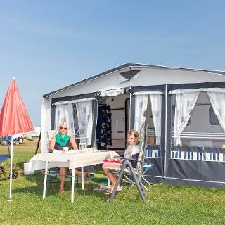 Strandcamping in Dangast