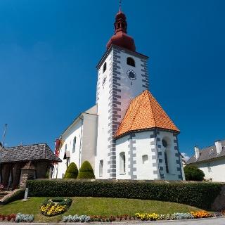 Pfarrkirche Edelschrott_Außenansciht