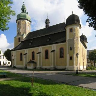 Horní město Horní Blatná - Kostel sv. Vavřince