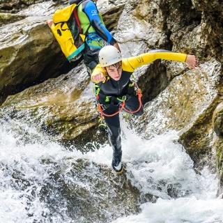 Canyoning Allgäu - Jump