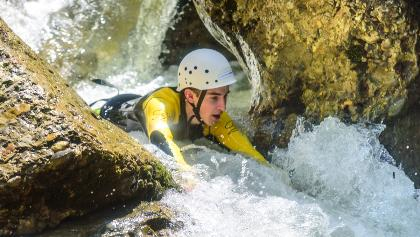 Canyoning im Allgäu - Starzlachklamm